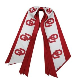 USA Licensed Bows Oklahoma Sooners Pony Streamer