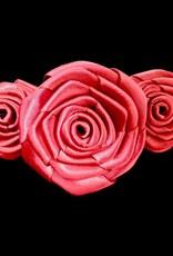 Divine Creations Triple Rose Barrette