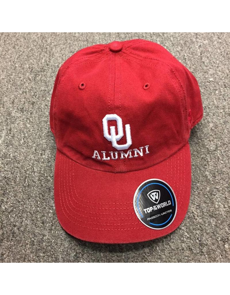 Top of the World TOW OU Alumni Adjustable Hat