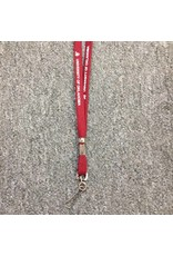 "Jardine 3/8"" OU University Of Oklahoma Lanyard w/ Swivel Hook Dk Crimson"