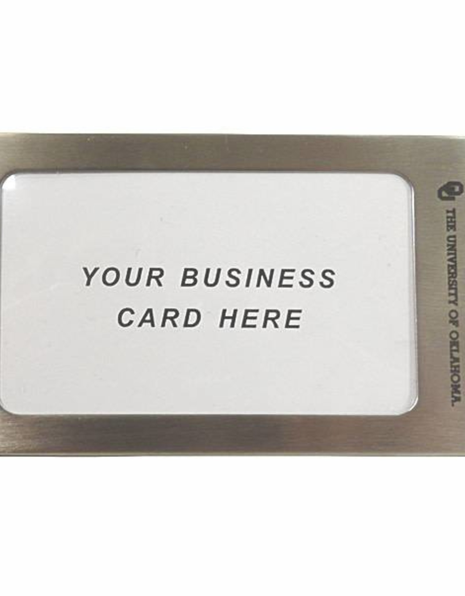 LXG LXG OU Business Card Luggage Tag