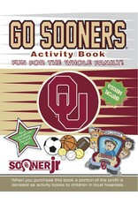 In the Sports Zone Go Sooners Activity Book