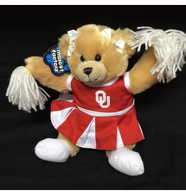 Mascot Factory OU Carly Bear w/ Cheer Outfit