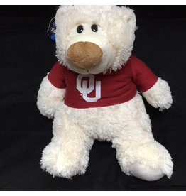 Mascot Factory OU JP Bear w/ T-shirt Cream