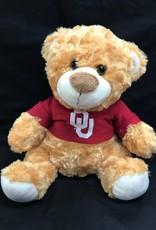 Mascot Factory OU Fred/Louie Bear w/ Tshirt