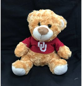 Mascot Factory OU Fred/Louie Bear w/ Tshirt