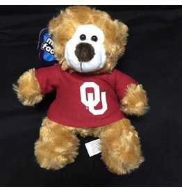 Mascot Factory OU Small Color Me Bear w/ Tee Brown 6""