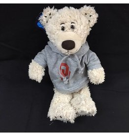 Mascot Factory OU Stitchez Bear w/ Hoody Cream 8""