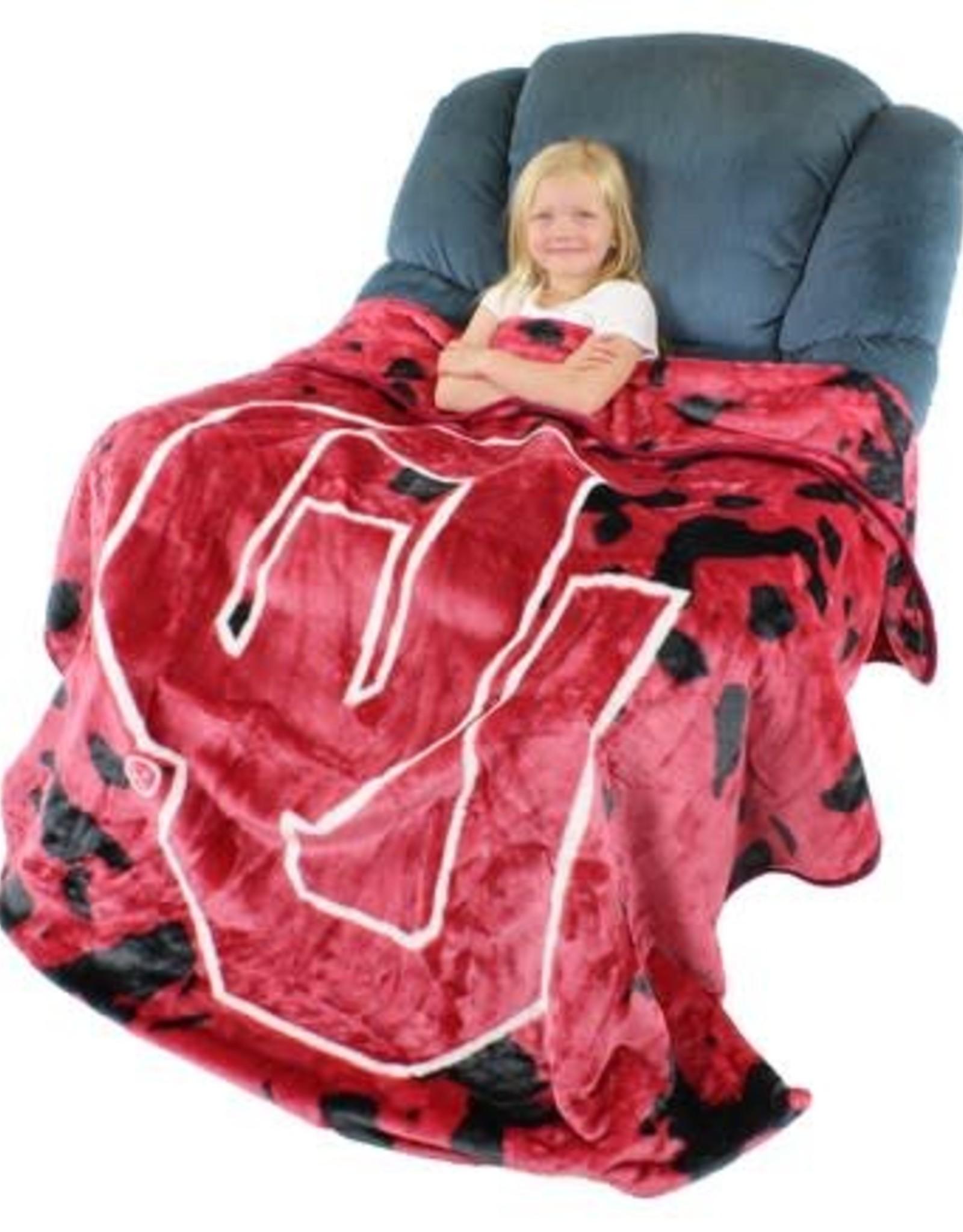 College Covers Bedspread/Throw OU Fleece Blanket