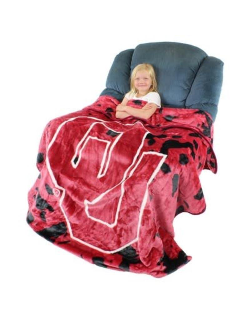 College Covers Bedspread/Throw OU Fleece Blanket