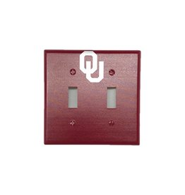 Keyscaper Keyscaper OU Double Toggle Switch Plate