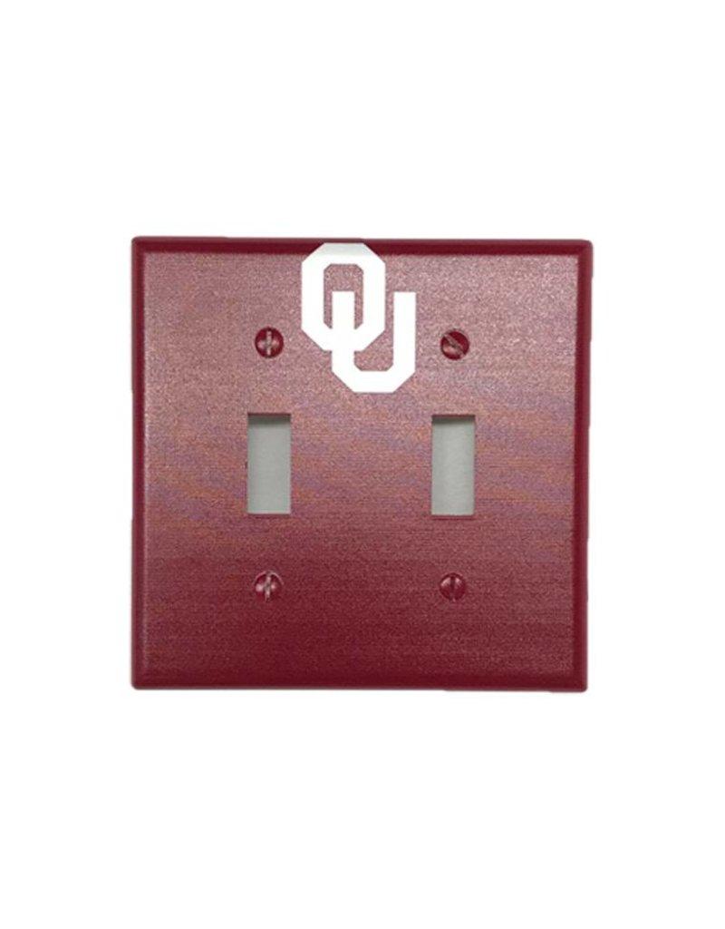 Keyscaper Keyscaper OU Double Toggle Switch Plate