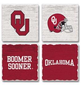 Jardine Oklahoma Square Absorbent Coaster (Set of 4)