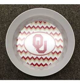 Thermoserv OU Chevron Pattern Small Melamine Bowl