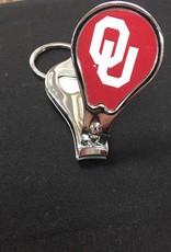 Worthy Nail Clipper/Bottle Opener OU Key Chain