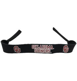 Croakies Oklahoma Sooners Black Croakies XL