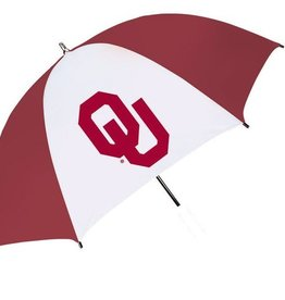 "Seven Sons OU Seven Sons 60"" Crimson & White Umbrella"