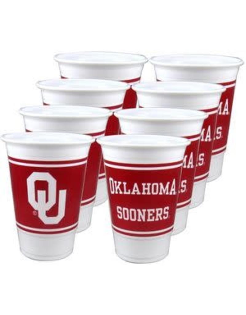 Westrick Oklahoma 16 oz Cups (8 Pack)