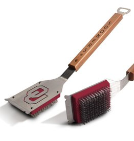 You The Fan Oklahoma Sooners Classic Grill Brush