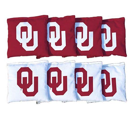 Fine Oklahoma Sooners Ou Bean Bag Set Lamtechconsult Wood Chair Design Ideas Lamtechconsultcom