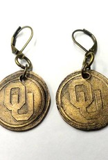 Legacy Bronze OU Earrings