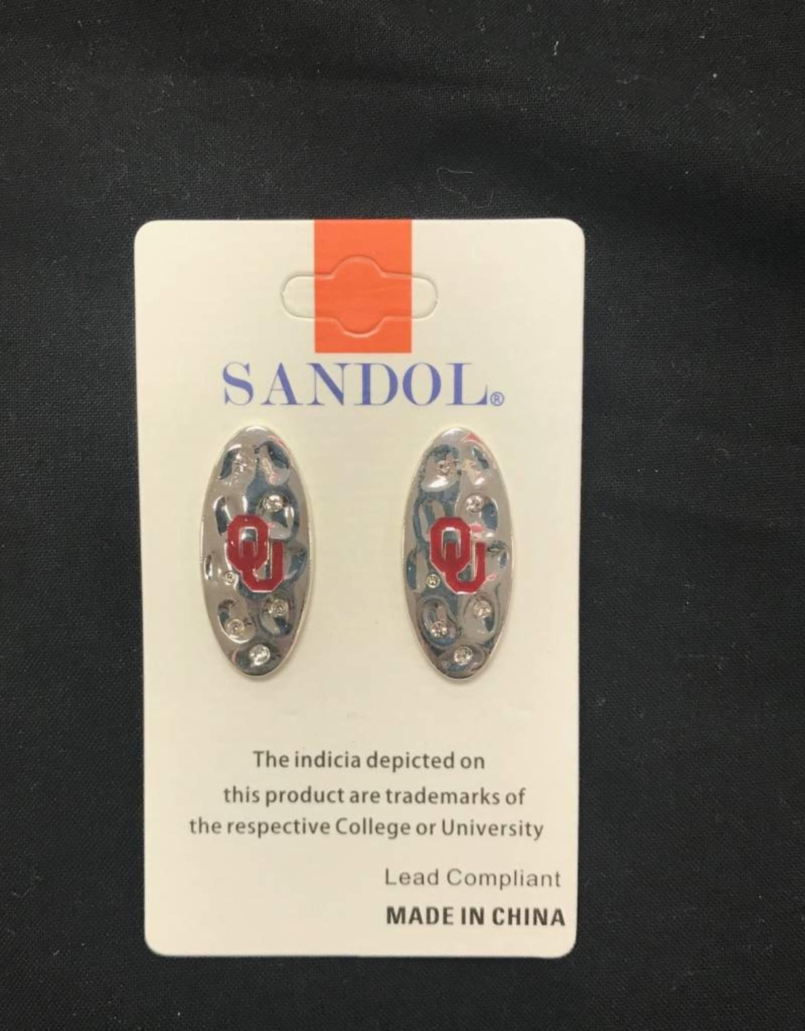 Sandol Sandol OU Silvertone Earring