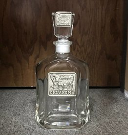 Heritage Pewter Schooner Pewter Emblem Whiskey Decanter