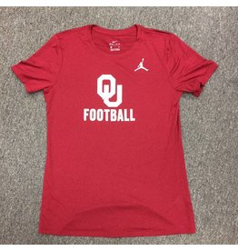 Jordan Women's Jordan Brand Dri-Fit OU Football SS Tee
