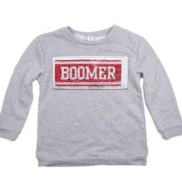 ZooZatz Women's Inverse Boomer/Sooners Sweatshirt