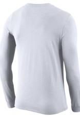 Nike Men's Nike Dri-Fit Cotton LS Logo Tee
