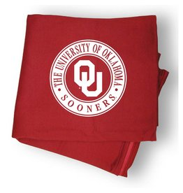 "MV Sport OU Circle Design Sweatshirt Blanket 54""x84"""