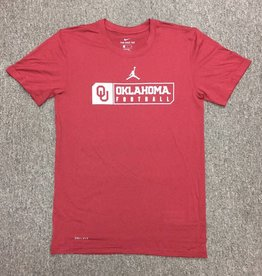 Jordan Youth Jordan Brand Legend SS Oklahoma Football Tee