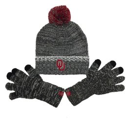 90c698db6f4 Top of the World TOW Frostbite Knit Beanie w  Touch Screen Gloves