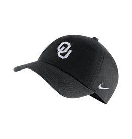 Nike Men's Nike OU H-86 AUTH. 2.0 BLACK ADJUSTABLE CAP