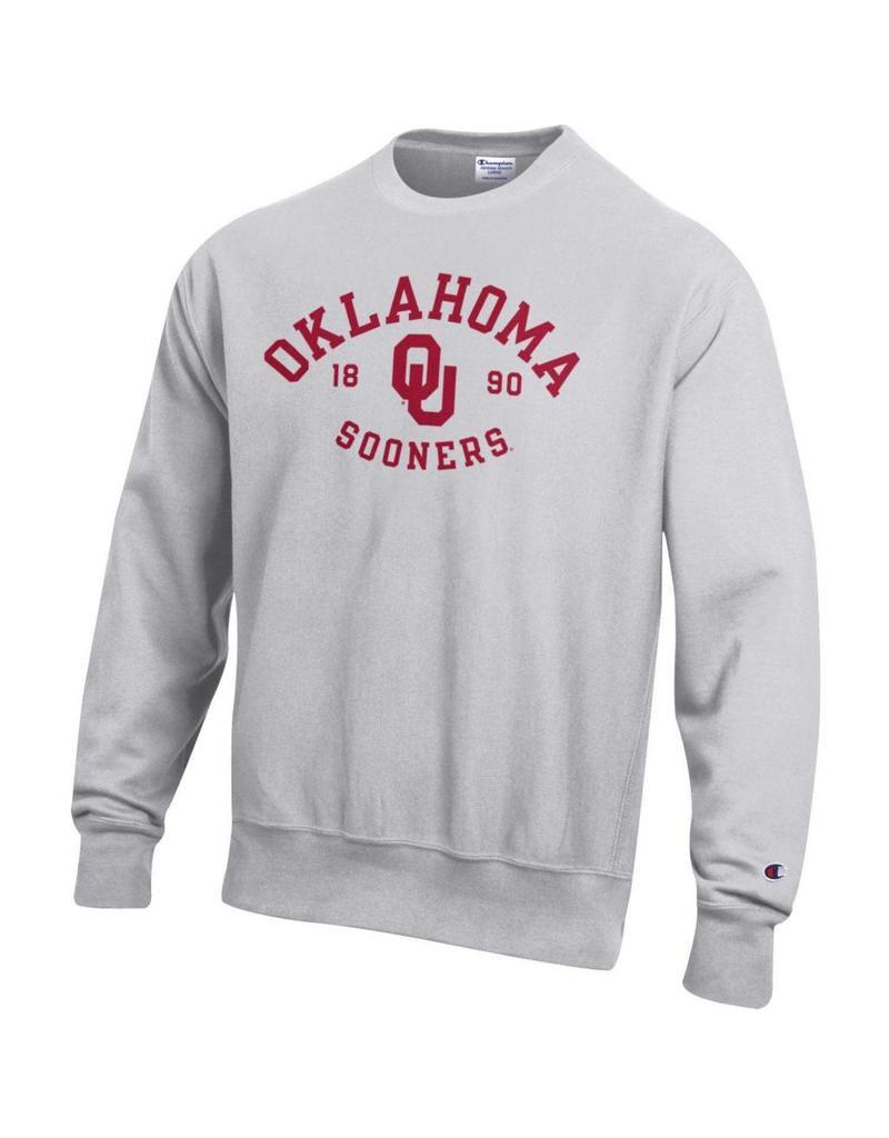 Champion Men's Oklahoma Sooners Reverse Weave Sweatshirt