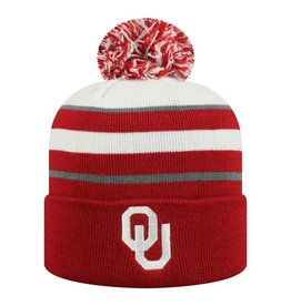 Top of the World TOW Skyview Cuffed Knit Three-Tone Beanie