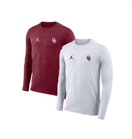 866455876 Jordan Men's Jordan Brand Dri-Fit Long Sleeve Coaches Top