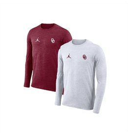 Jordan Men's Jordan Brand Dri-Fit Long Sleeve Coaches Top