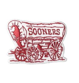 Spirit Products Schooner Embroidered Patch with Iron-On Backing