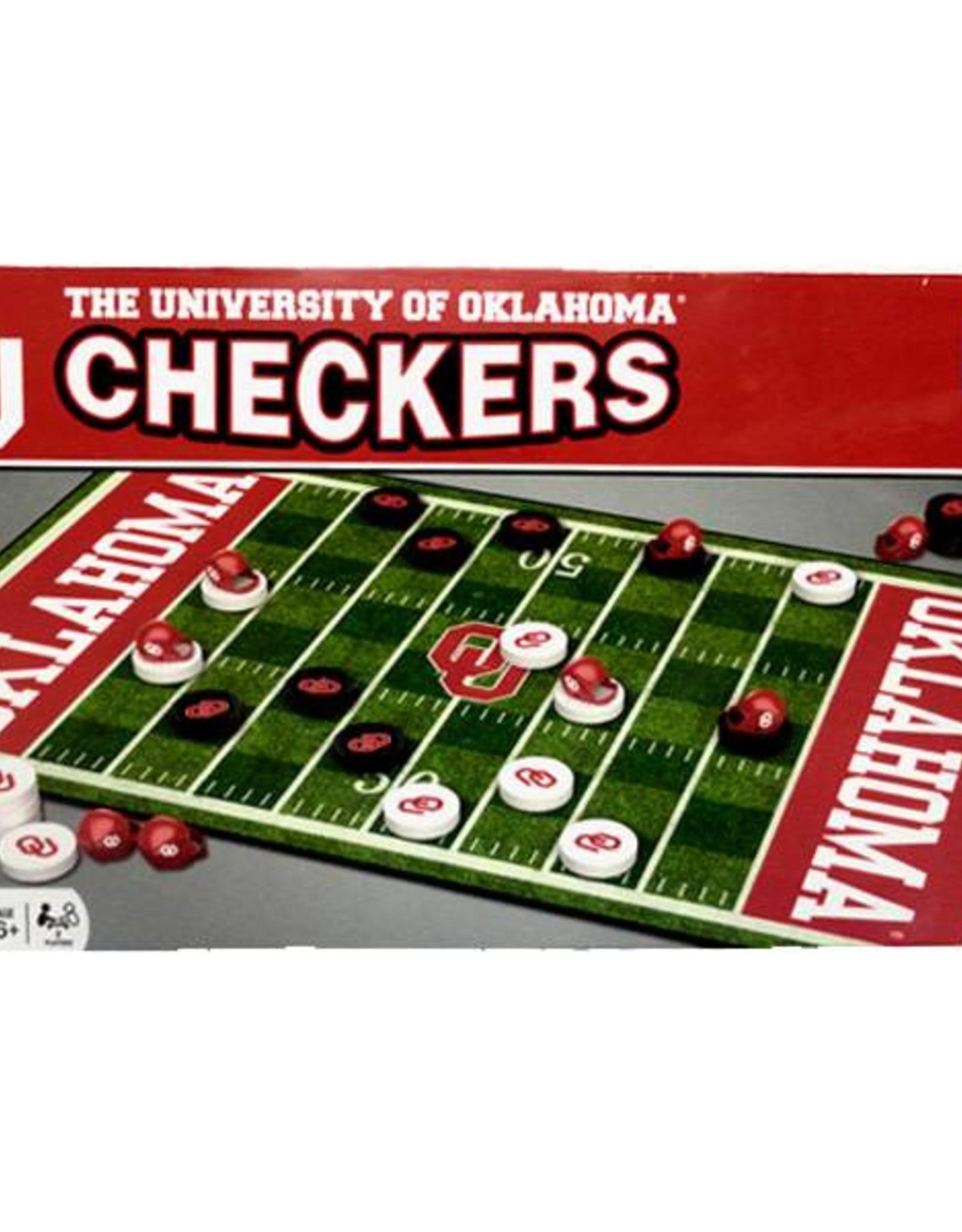Masterpieces OU Checkers Game