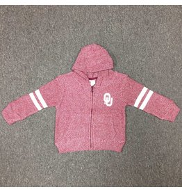 Little King Toddler Little King Twist Crimson Zip Jacket w/ Hood