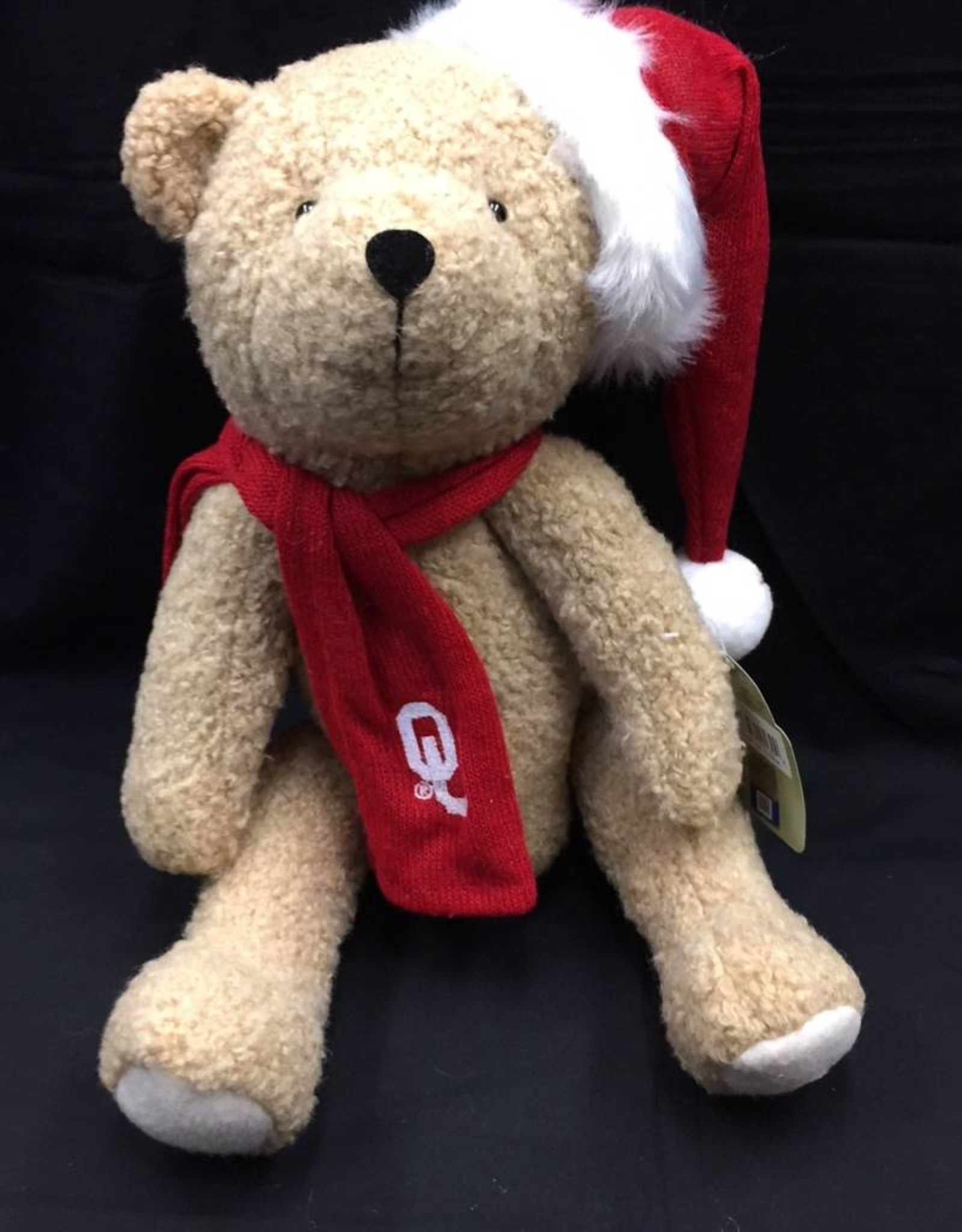 "Santa's Workshop Santa's Workshop OU 12"" Christmas Bear"