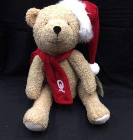"Santa's Workshop Santa's Workshop OU 12"" Christmas Bear"