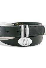 Zep-Pro Zep-Pro Black OU Concho Ranger Style Belt