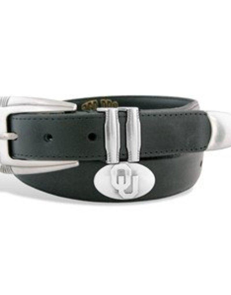 ZEP-PRO Mens NCAA Leather Concho Belts