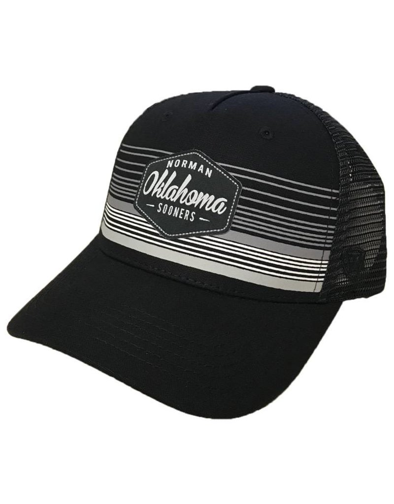 Top of the World TOW Frequency Oklahoma Adjustable Black Cap