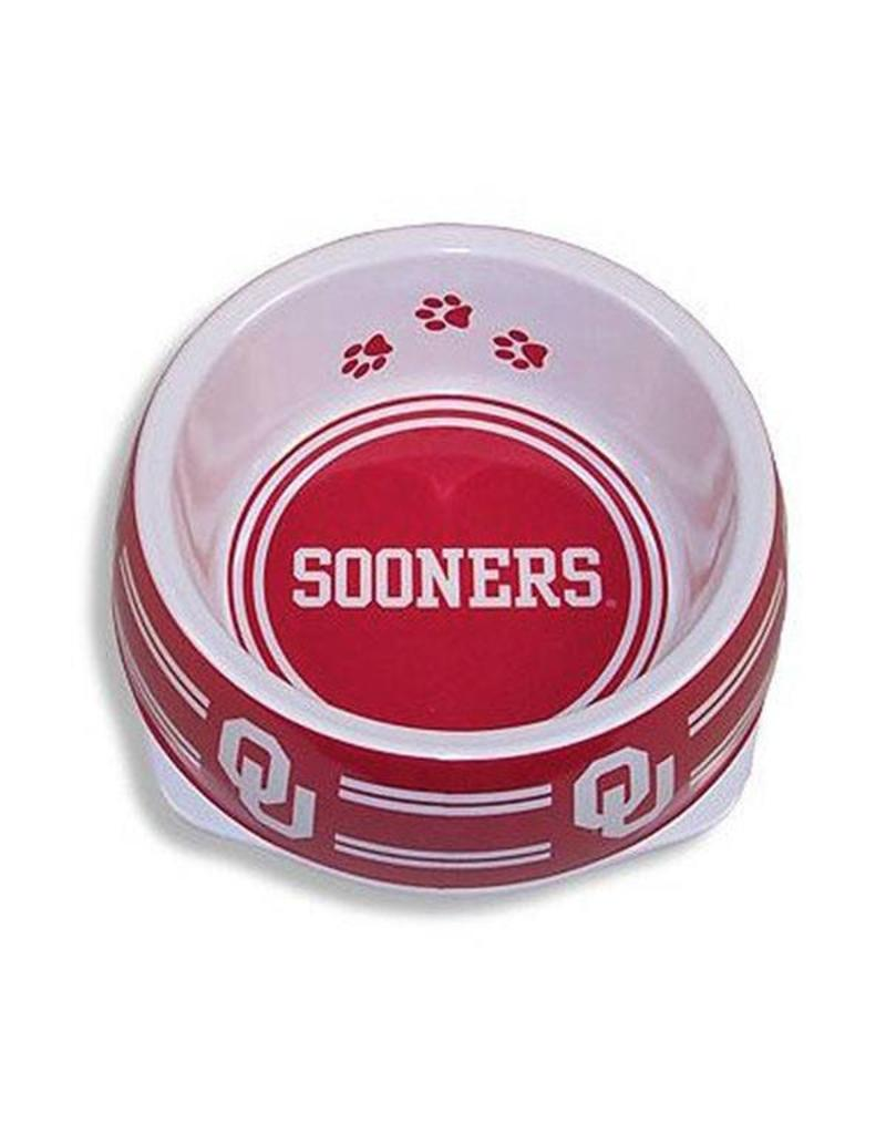 Pets First Sporty K9 OU Sooners Small Pet Bowl