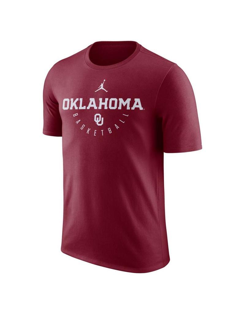 Jordan Men's Jordan Brand Oklahoma Basketball Key Tee