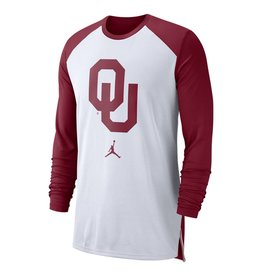 Jordan Men's Jordan Brand OU L/S Breathe On-Court Warm-Up Top