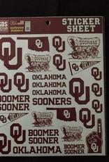 SDS Design SDS OU Sticker Sheet